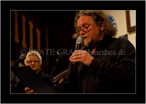 Verleihung German Blues Award: Solo/Duo, Uwe Mamminga, Abi Wallenstein