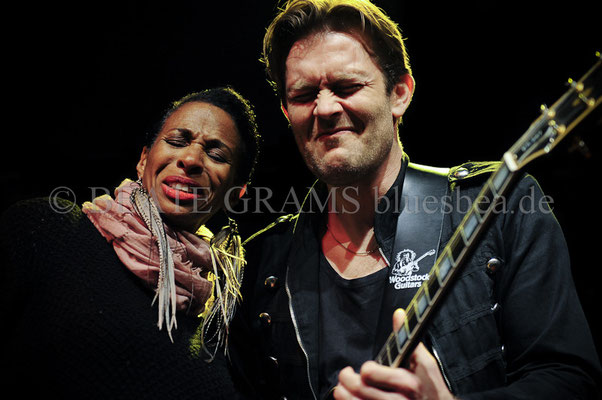 "Shakura & Mike Andersen - Grand final: ""Hosted session"" - Blues Baltica Eutin"
