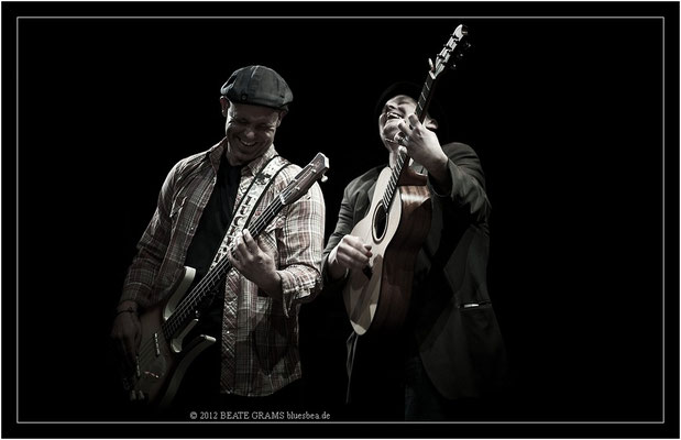 "6 Matt Murphy & Frank Morey (USA) - Grand final: ""Hosted-Session"" - 23. Bluesfestival Eutin 2012 - Sonntag, 20. Mai"