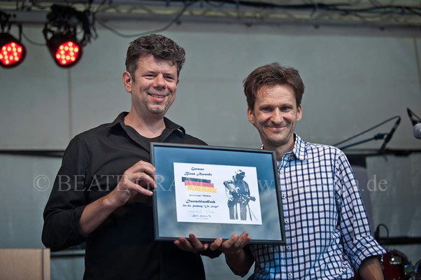 """Medien - Deutschlandfunk fuer die Sendung """"On stage"""""""