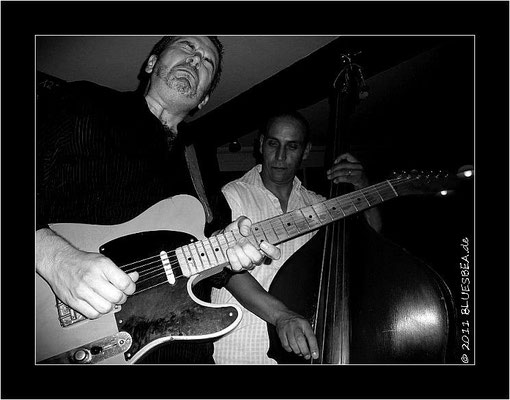 "Sean Carney Band & Omar Coleman - 24. September 2011 Eutin, ""Alte Mühle"""
