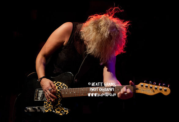 Rebecca Downes Band - 24.02.2017, Räucherei Kiel, 19. Int. Bluesfestival