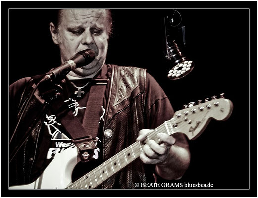 WALTER TROUT & Band - 12. November 2011 - Fabrik HH