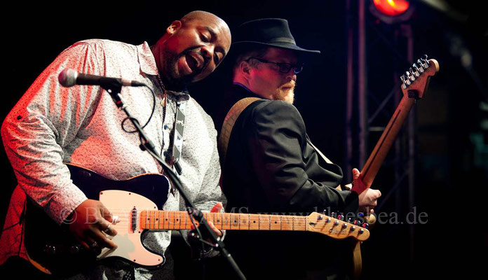 "Shawn Holt ""Lil slim"" & The Teardrops (USA) - 28. BluesBaltica/Bluesfest Eutin 2017"