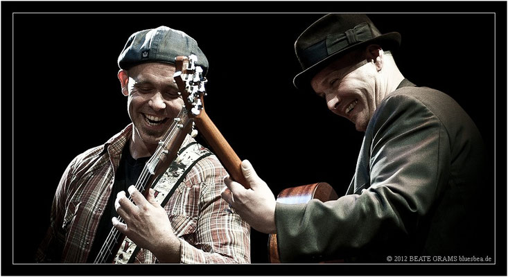 "5 Matt Murphy & Frank Morey (USA) - Grand final: ""Hosted-Session"" - 23. Bluesfestival Eutin 2012 - Sonntag, 20. Mai"