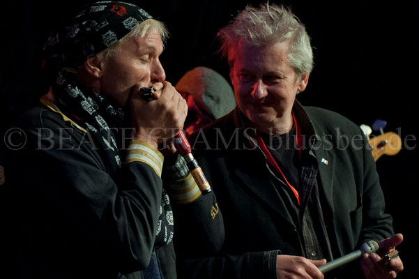Jason Ricci, Marc Breitfelder, BluesBaltica Eutin 2016