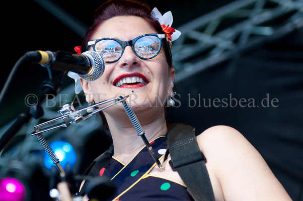 Veronica & The Red Wine Serenaders - BluesBalticaEutin, 05.2014