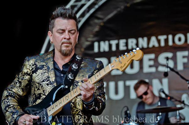 Ronny Aagren & His Blues Gumbo (N) - 29. BluesBaltica/Bluesfest Eutin 21.05.2018