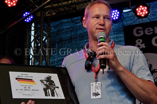 Michael Voss - Verleihung German Blues Award – Ehrenpreis: Band