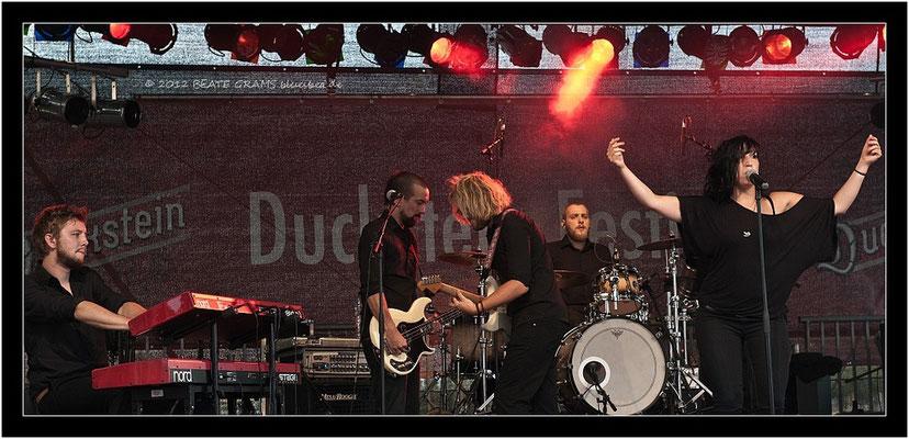 Jessy Martens & Band - 17. August 2012 - Ducksteinfestival Kiel