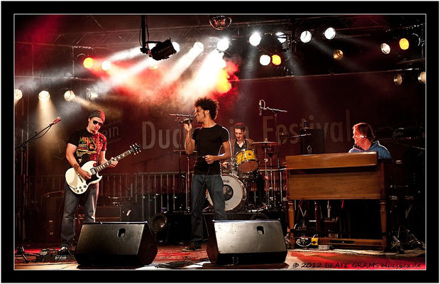The Kai Strauss Band - 24. August - Ducksteinfestival Kiel