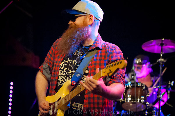 Johnnie Guitar Williamson's Blue Swamp All Star Band - Int. Kieler Bluesfestival, Räucherei