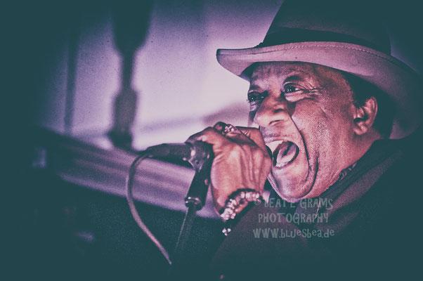 Mac Arnold & Plate Full O'Blues - JamSession, Jan's Garage Eutin, 01.12.2016