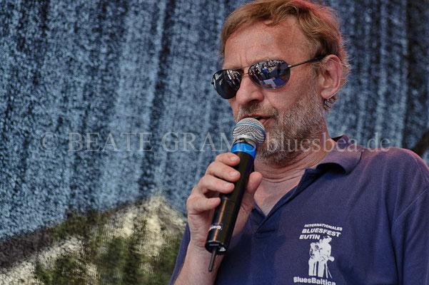 Helge Nickel - Verleihung German Blues Award – Ehrenpreis: Medien