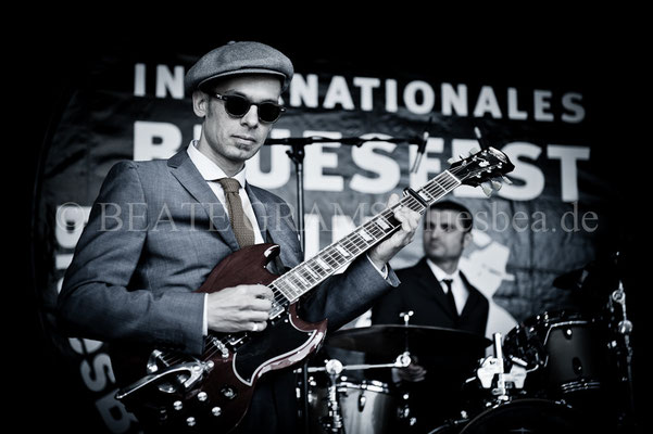 Egidio Juke Ingala & The Jacknives - BluesBalticaEutin, 05.2015