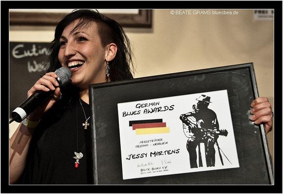 10 Preisträger Gesang weiblich - Jessy Martens