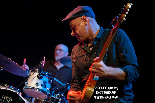 Get The Cat - 24.02.17 - Räucherei Kiel, 19. Int. Bluesfestival