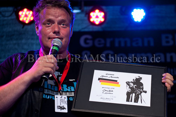 ChaBah, Kandern - Verleihung German Blues Award – Ehrenpreis: Club