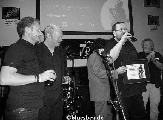 Michael van Merwyk und seine Band Bluesoul