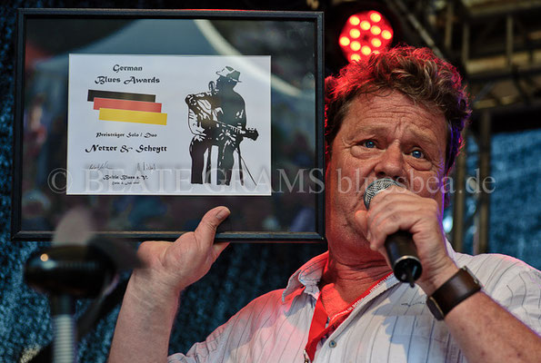 Netzer & Scheytt - Verleihung German Blues Award – Ehrenpreis: Solo/Duo