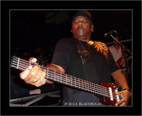 John Lee Hooker Jr. & Band - 14. Oktober 2011 - Räucherei Kiel