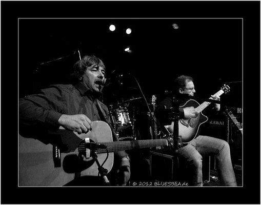 Duo Seven T´s - 10. Februar 2012, 14. Internationales Kieler Blues Festival, Räucherei