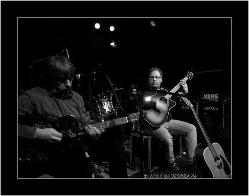 Duo Seven T´s - 10. Februar 2012, 14. Internationales Kieler Blues Festival, Räucherei