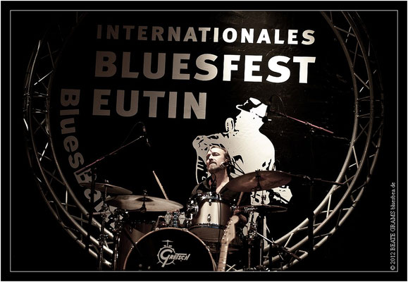 Shawn Pittman & The Bluestars  - 23. Bluesfestival Eutin 2012