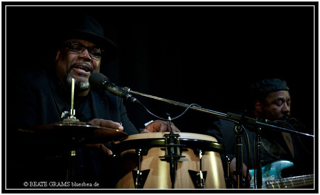 Big Daddy Wilson Trio & Reggie Worthy - 25. Januar, Savoy Bordesholm