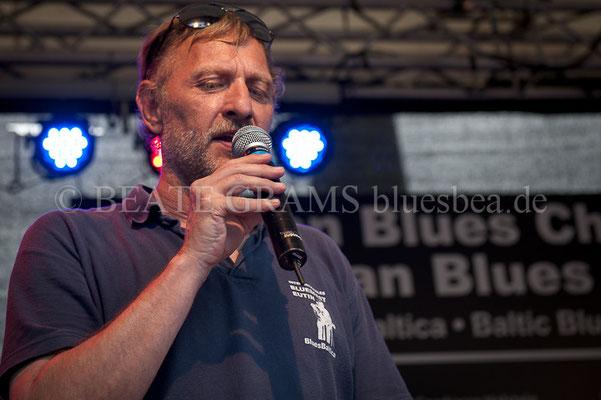 Helge Nickel - Verleihung German Blues Award – Ehrenpreis: National