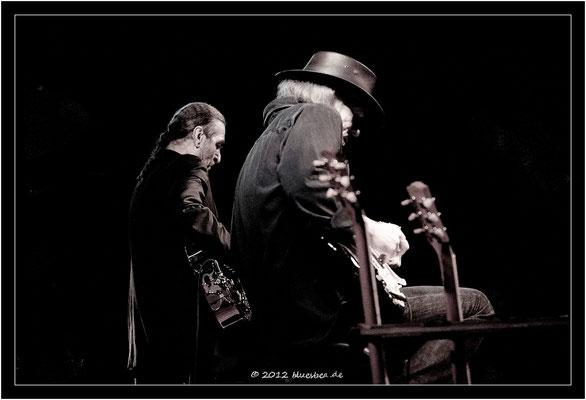 """Richard Bargel & Klaus """"Major"""" Heuser - 13. April 2012 - Rider´s Musik Club - Lübeck"""