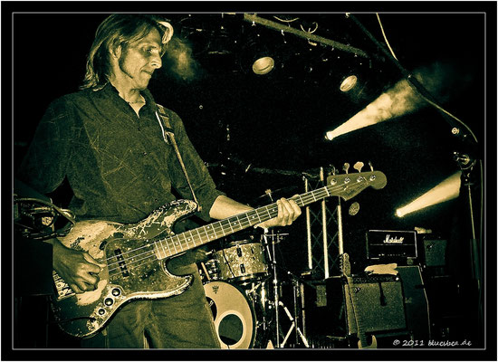 "The HAMBURG BLUES BAND & ARTHUR BROWN ""The God Of Hellfire"" - 16. September 2011 Kiel, Pumpe"