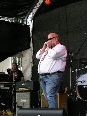 Foto:G.Harder - Eric's Blues Band - Bluesfestival Eutin 22.05.2009
