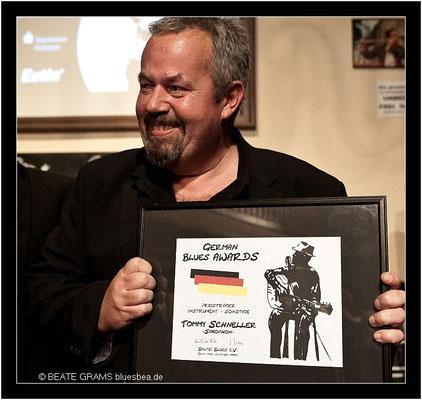 3 Preisträger Instrument/Sonstige – Tommy Schneller, Saxophon