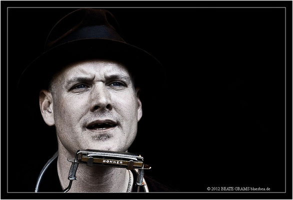 Frank Morey and His Band - 23. Bluesfestival Eutin 2012