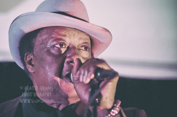 Mac Arnold & Plate Full O'Blues - JamSession, Jan's Garage Eutin, 01.12.2016