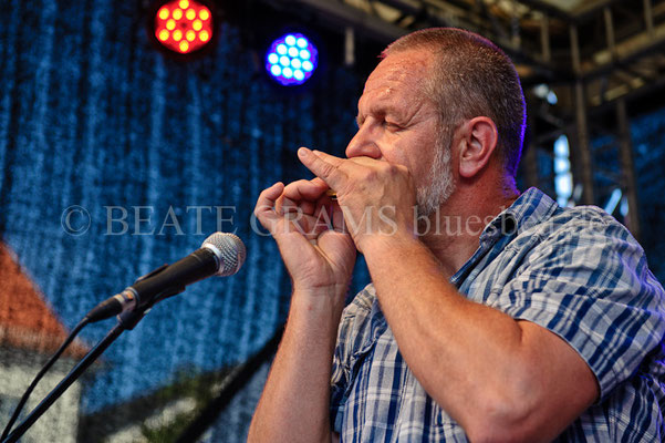 Greyhound George, German Blues Challenge & German Blues Awards