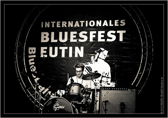 Jan Gerfast Blues Band - 23. Bluesfestival Eutin 2012