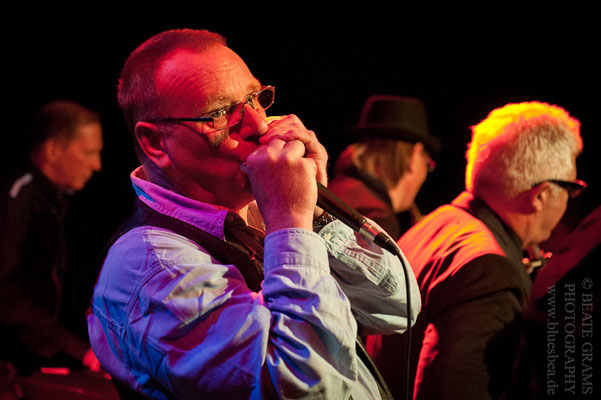 The Lying Eight Blues Band - Kieler Blues Nacht 2016 - Räucherei