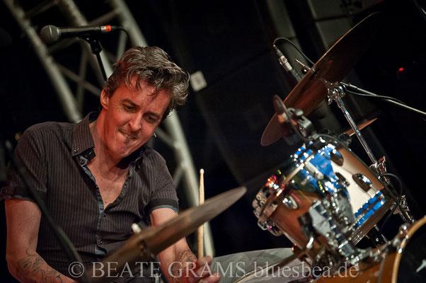 Josh Miller & Bad Mules (USA/FR) - 29. BluesBaltica/Bluesfest Eutin 18.05.2018