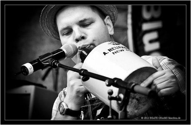 Tim Lothar & Peter Nande - 23. Bluesfestival Eutin 2012