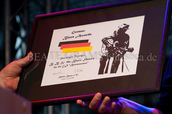 Business Man - BB & The Blues Shacks, Verleihung German Blues Award – Ehrenpreis: Tonträger