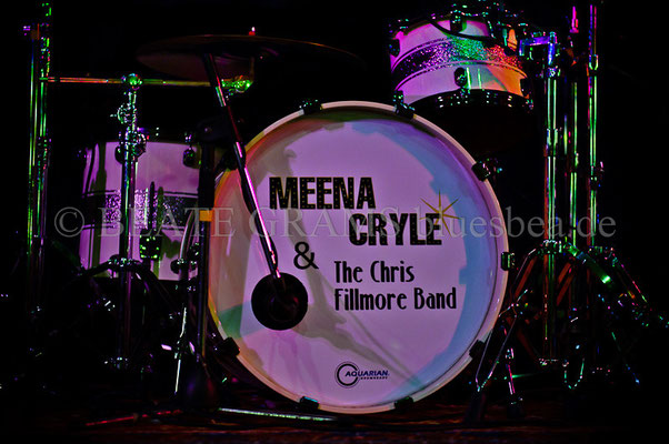 Meena Cryle & The Chris Fillmore Band - 20. September - Savoy Bordesholm