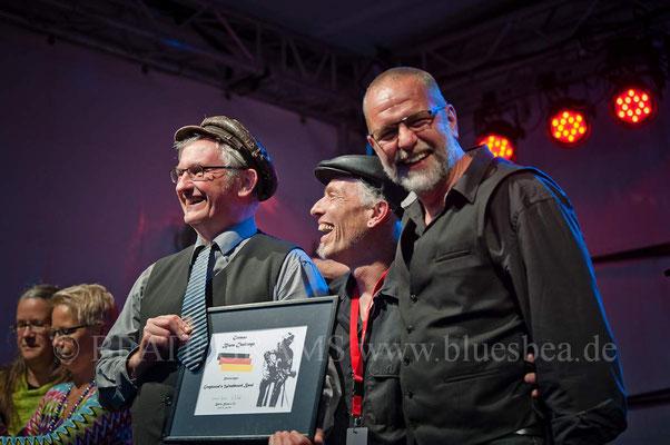Preisverleihung Gewinner GBC 2017 - Greyhound's Washboard Band