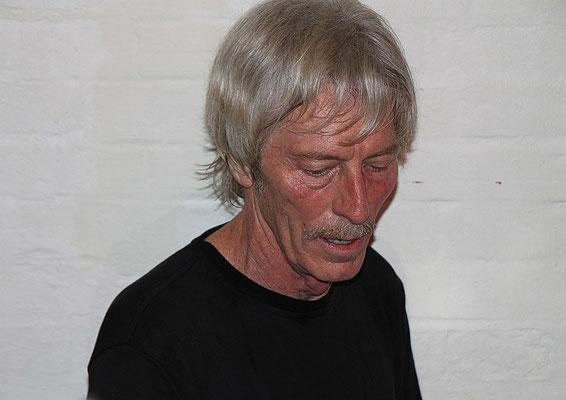 "Foto:K.U.Schlüter - Mac Arnold & Plate Full O'Blues, 29.10.2010 ""Alte Mühle"" Eutin"