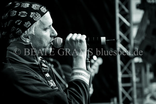 Jason Ricci & The Bad Kind (USA) - BluesBalticaEutin, Mai 2016