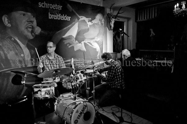 Georg Schroeter & Marc Breitfelder and Friends - Dezember 2013, Waldschänke Kiel