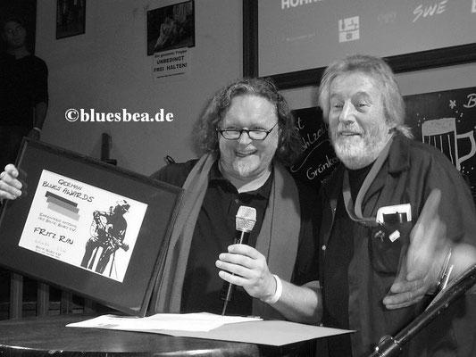Uwe Maminga (Downtown Bluesclub HH), Horst Dieter Fischer (1. Vorsitzender Blues Baltica eV)