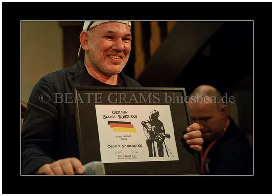 Georg Schroeter, Verleihung German Blues Award - Ehrenpreis: Bestes Piano