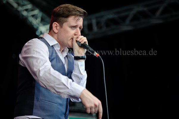 Chris Kramer & Beatbox´n´Blues - 28. BluesBaltica/Bluesfest Eutin 2017
